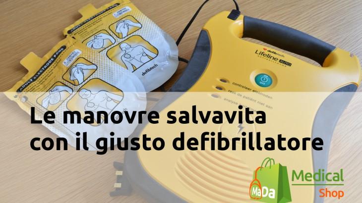 scegliere il deifibrillatore