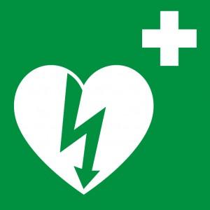 defibrillatore segnaletica