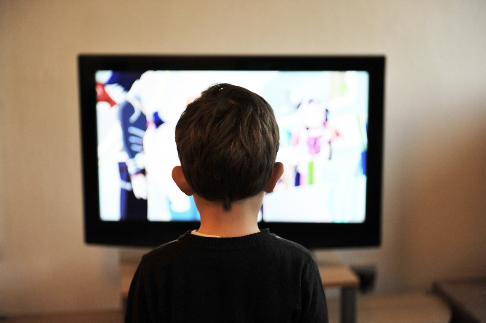 bambino televisione