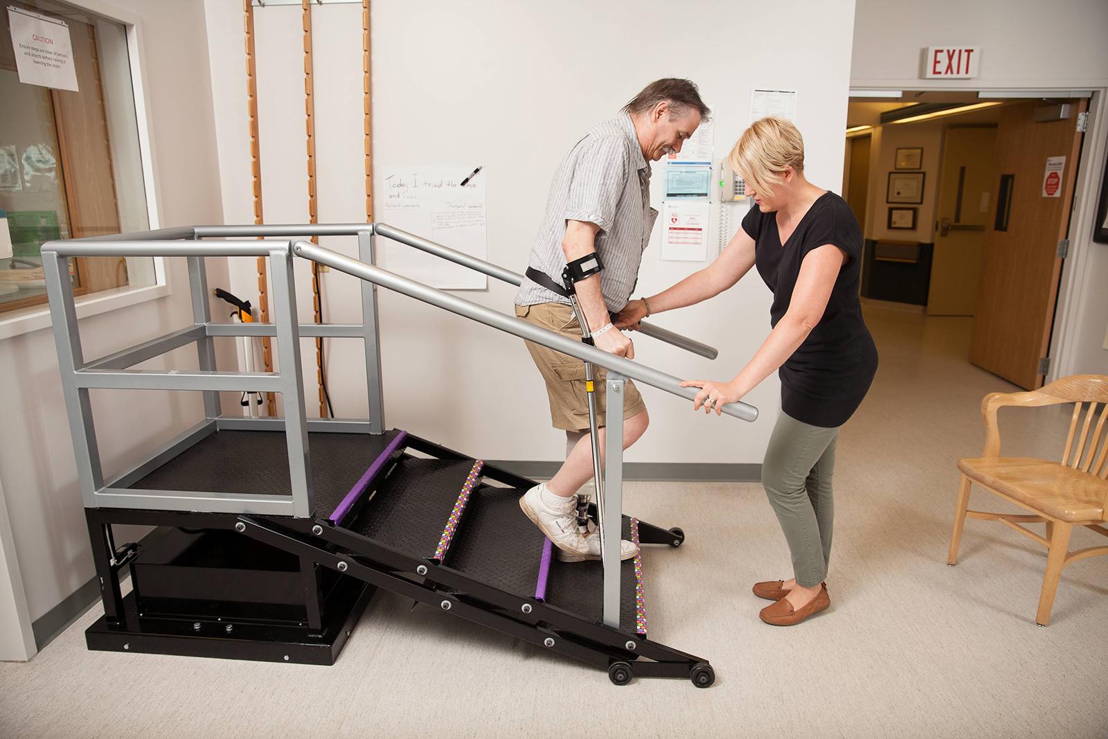 riabilitazione trauma caviglia